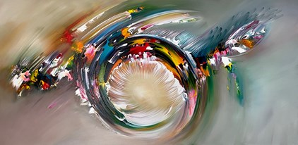 Gena - Abstract (140 x 70 cm) - Sold