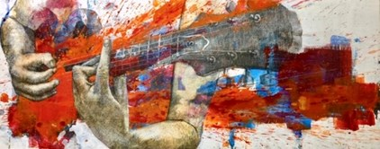 Amador - Guitarrista - from € 475 for € 295 (100 x 40 cm)