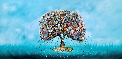 Gena - Tree of Life (140 x 70 cm) - €750